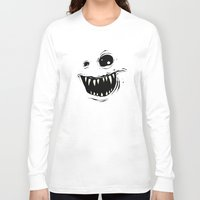 monty python Long Sleeve T-shirts featuring Monty by Nicholas Ely