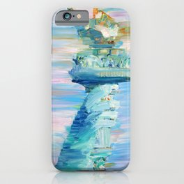 STATUE OF LIBERTY - THE TORCH iPhone Case