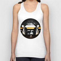 old school Tank Tops featuring Old School by Anand Brai