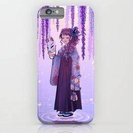 Wisteria dream iPhone Case