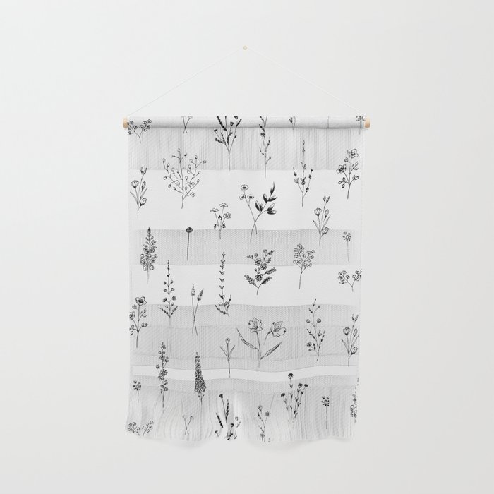 Wildflowers Wall Hanging