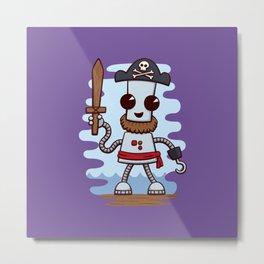 Pirate Ned Metal Print