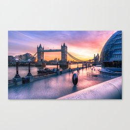Tower Bridge sunrise Canvas Print