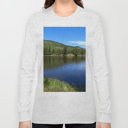 A Glorious Morning In The Rockies Long Sleeve T-shirt