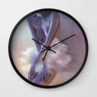 degas Wall Clocks featuring Degas 2.0 by Ciro Design
