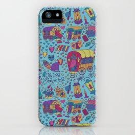 Caravan Pattern iPhone Case