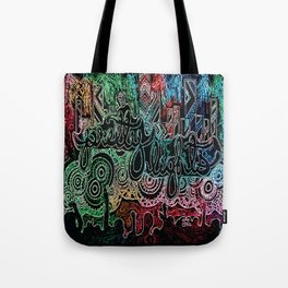 All of the Glowing Lights Tote Bag