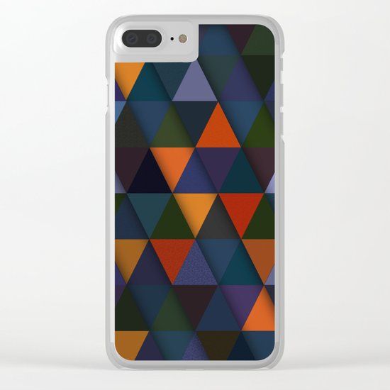 Abstract #285 Clear iPhone Case