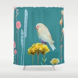 en chemin Shower Curtain