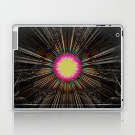 Triangle of light. Laptop & iPad Skin