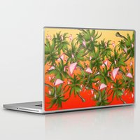 tropical Laptop & iPad Skins featuring tropical  by mark ashkenazi