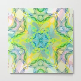 A colorful kaleidoscope 3 Metal Print