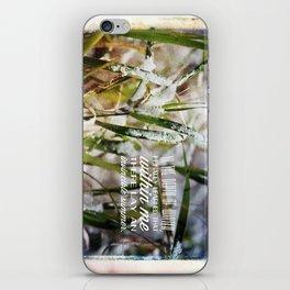 Invincible Summer. iPhone Skin