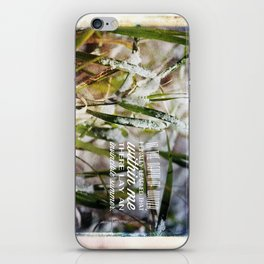 Invincible Summer. iPhone Skin