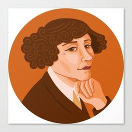 Queer Portrait - Colette Canvas Print