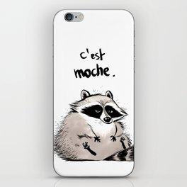 Racoon iPhone Skin