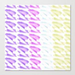 Pastel Colors Design Canvas Print