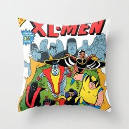 XL-MEN Throw Pillow