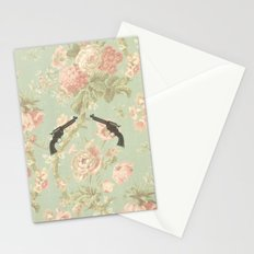 Guns & Flowers Stationery Cards