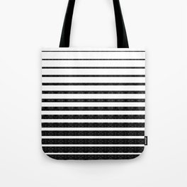 Spirograph on stripes - 1 Tote Bag