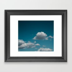Sky and clouds 04 Framed Art Print