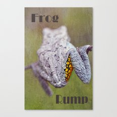 Frog Rump Canvas Print