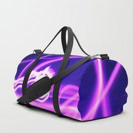 Hot Pink Sparkler Flames Duffle Bag