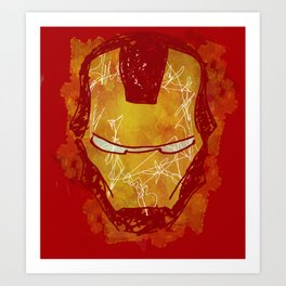 The Iron Mask Art Print