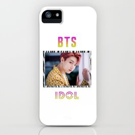 BTS Song IDOL Design - Jungkook iPhone Case