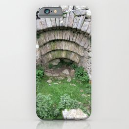 Old Stone Archway In Hillside at Pen y Ghent, Horton in Ribblesdale. iPhone Case