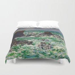 """Claude Monet """"Port Coton: Le Lion"""" Duvet Cover"""
