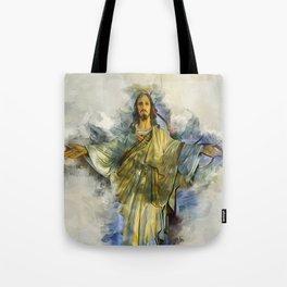 Prescence Of God Tote Bag