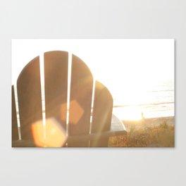 Beach Light Canvas Print