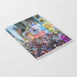 Times Square Tourists Notebook
