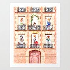 Paris, Paris... (1) Art Print