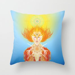 Paradise is within you... Throw Pillow