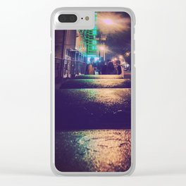 The mission Clear iPhone Case
