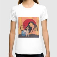 capricorn T-shirts featuring Capricorn by Lea K Arts