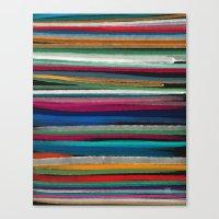 lama Canvas Prints featuring Lama by Sam Gates