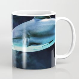 Gray Shark Head (Color) Coffee Mug