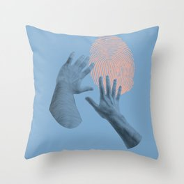searching for identity Throw Pillow