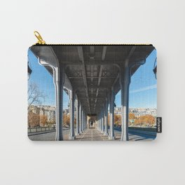 Cycle Path on the pont Bir-Hakeim - Paris Carry-All Pouch