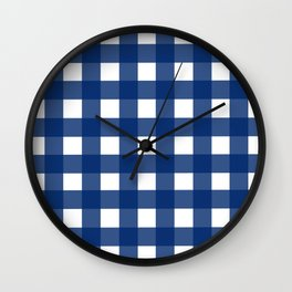 Gingham Girl Wall Clock