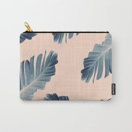 Tropical Banana Leaves Dream #7 #foliage #decor #art #society6 Carry-All Pouch