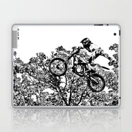Stealing the Air - Freestyle Motocross Rider Laptop & iPad Skin