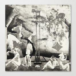 Precipice: The End of Culture Canvas Print