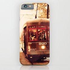 St Charles Street Car - New Orleans iPhone 6s Slim Case