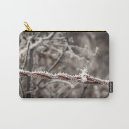 Frosty Barbed Wire Carry-All Pouch