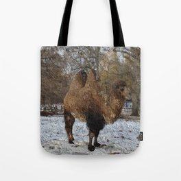 Glazed camel painting #8083 Tote Bag