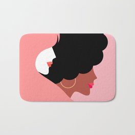 Girl Power we persist  #girlpower Bath Mat